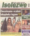 Jackie Sunshine Smith featured on cover of Zulu newspaper.jpg
