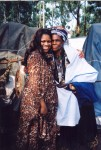 Jackie Sunshine Smith with Zulu Queen Mother of iNazareth Baptist Church  in South Africa.jpg