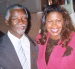 South Africa President Thabo Mbeki and Jackie Sunshine Smith in Durban South Africa.jpg