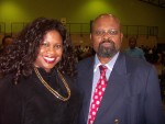 Jackie Sunshine Smith and Durban South Africa Mayor Obed Mlaba.JPG
