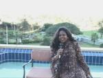 Jackie Sunshine Smith hosts Sunshine Boxing Show poolside at Elengani Hotel Durban South Africa.JPG