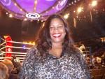 Jackie Sunshine Smith at ringside Ruiz vs Valuev Berlin Germany.JPG