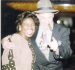 Bert Randolph Sugar & Jackie Sunshine Smith at Holyfield-Lewis Weigh-in Las Vegas.jpg