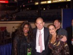 Jackie Sunshine Smith with Wilfried Sauerland and wife at Valuev vs Barrett.JPG