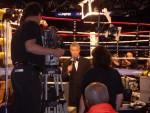 Jim Lampley working ringside.JPG