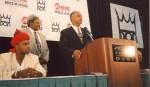 Atlanta Mayor Bill Campbell speaks at Holyfield-Bean Press Conf at Georgia Dome.jpg