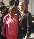 Jackie Sunshine Smith & Mayor Bill Campbell at Jesse Hill Jr Street Naming Ceremony Atlanta.jpg