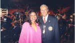 Jackie Smith & Dr. Calvin Inalsingh, Chairman of WBA Medical Advisory Comm at Ringside Ruiz-Jones Las Vegas.jpg