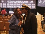 Jackie Sunshine Smith & Cassisus Green kiss at Ruiz-Jones Weigh-in.jpg