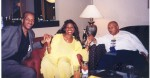 Moses Brewer, Jackie Sunshine Smith, IBE President Rev. Charles Williams in President's Suite at IBE Indianapolis.jpg