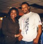 Jackie Smith & Chris Johnson at Boxing in Buckhead public workout Atlanta.jpg