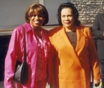 Jackie Sunshine Smith & Coretta Scott King at Jesse Hill Jr Street Naming Ceremony Atlanta.jpg