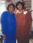 Jackie Sunshine Smith & Debbie King at Reception honoring Henrietta King in Atlanta.jpg