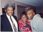 Don King, Jackie Sunshine Smith & Mike Tyson at Don King-Mike Tyson Turkey Tour Atlanta