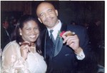 Jackie Sunshine Smith & Drew Pearson at Celebrity Fight Night Atlanta.jpg
