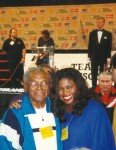Eddie Futch & Jackie Sunshine Smith at Holyfield-Tyson weighin MGM Grand Las Vegas.jpg
