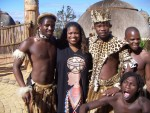 Jackie Sunshine Smith at Sibaya Casino Zulu Experience.JPG