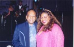 Jackie Sunshine Smith with Vivian Reddy at Sibaya Casino event.jpg