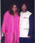 KwaZulu Natal Premier Sbu Ndebele and Jackie Sunshine Smith at Sibaya Casino in Durban South Africa.jpg