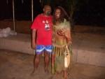 Durban Mayor Obed Mlaba and Jackie Sunshine Smith at Durban Beachfront.JPG
