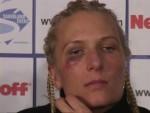Asa Sandell at Ali vs Sandell postfight presser Berlin.jpG