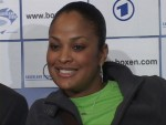 Laila Ali at Berlin press conference.jpG
