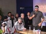Team Ruiz at Valuev vs Ruiz postfight presser Berlin.JPG