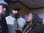Norman Stone and John Ruiz interview with Jackie Sunshine Smith at Valuev vs Ruiz presser Berlin.jpG