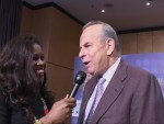 Promoter Wilfried Sauerland discuss Valuev vs Ruiz with Jackie Sunshine Smith.JPG